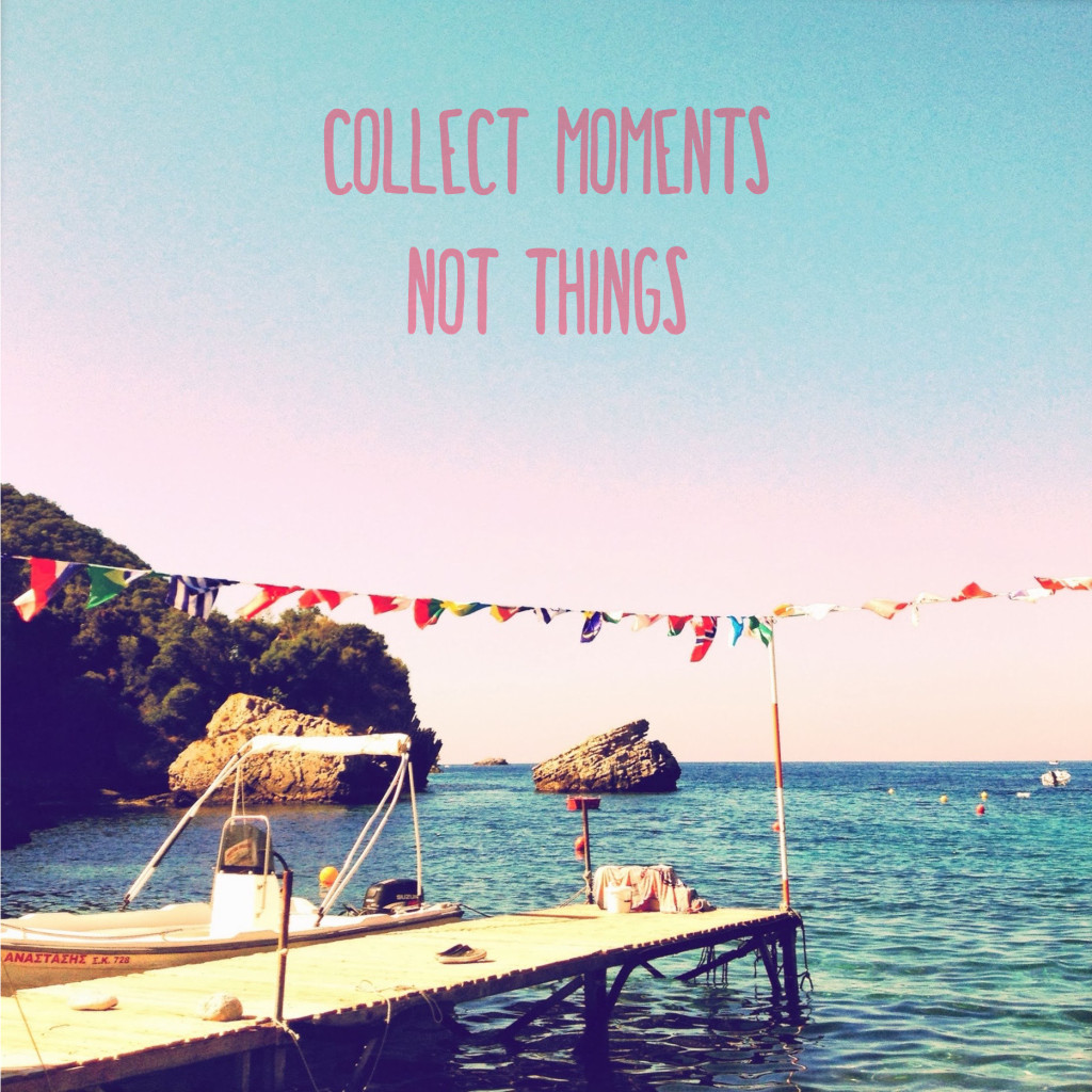 CollectMomentsNotThings