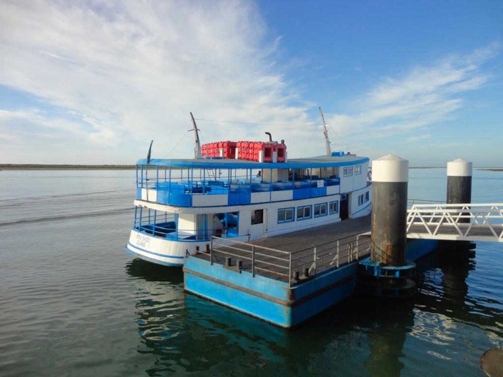 22 Barco para a Ilha da Culatra e Farol