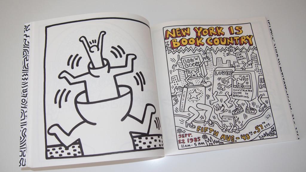 Carnet de coloriage Keith Haring_02