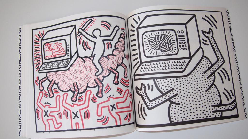 Carnet de coloriage Keith Haring_04