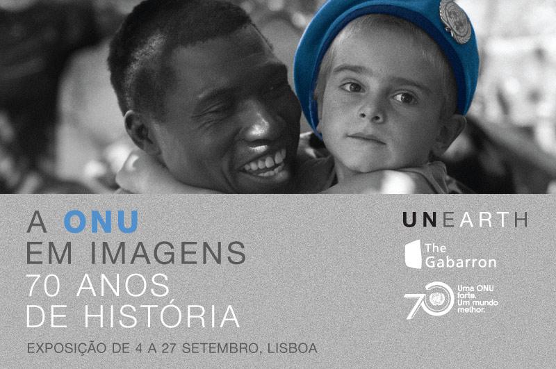 """Exposição """"A ONU em imagens – 70 anos de História"""""""