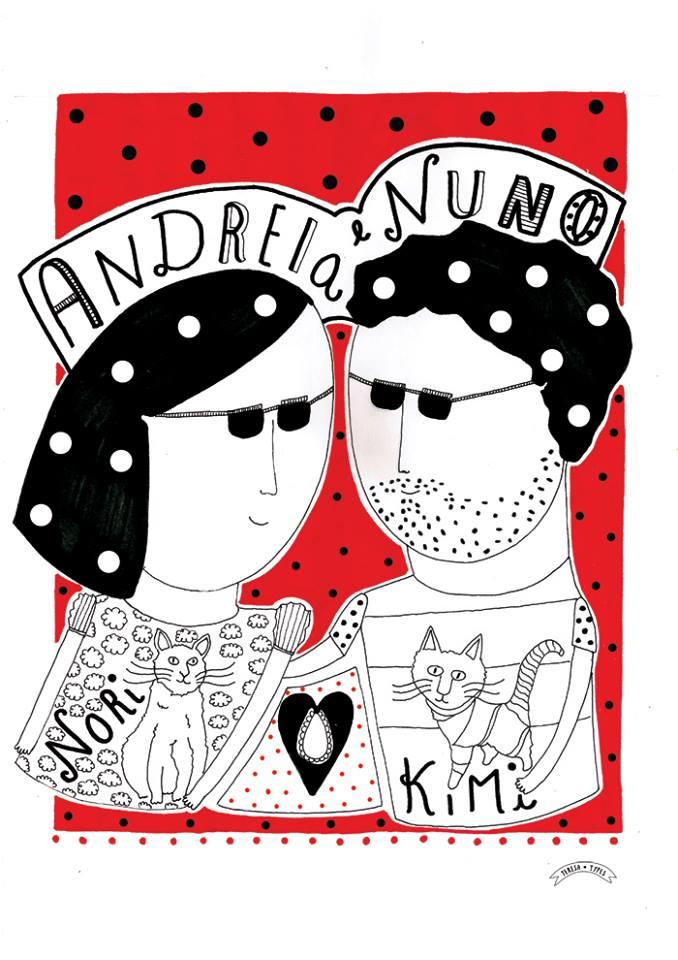 Andreia e Nuno TeresaTypes