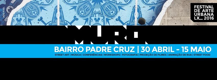 MURO - Festival de Arte Urbana LX 2016