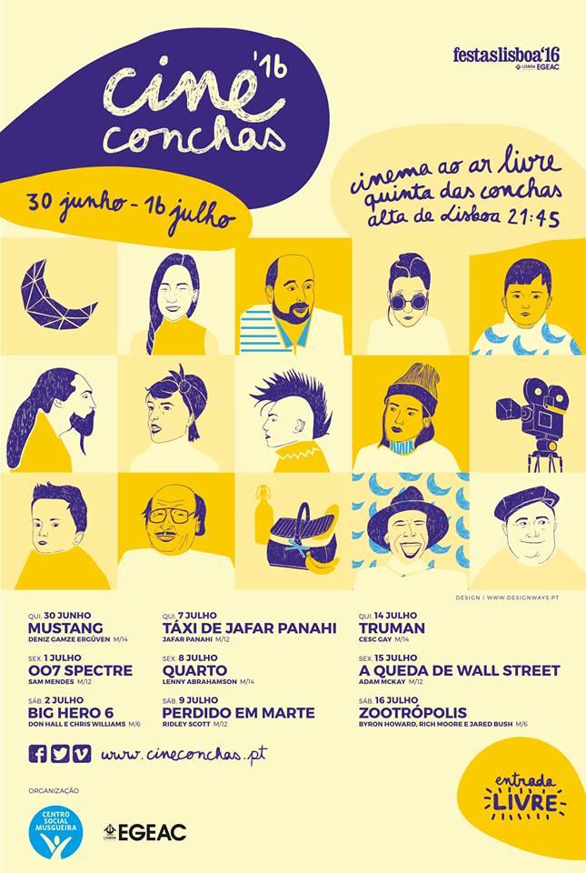 CineConchas 2016